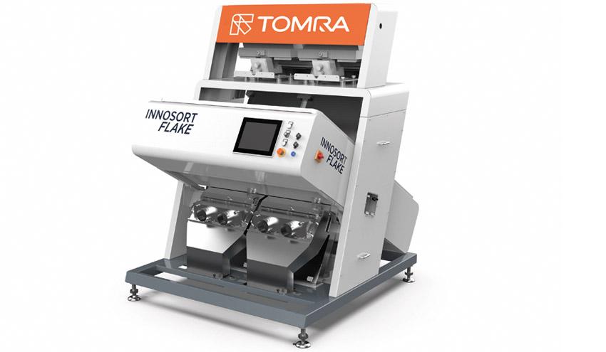 TOMRA Sorting Recycling presenta su nuevo sistema de clasificación dual basada en sensores
