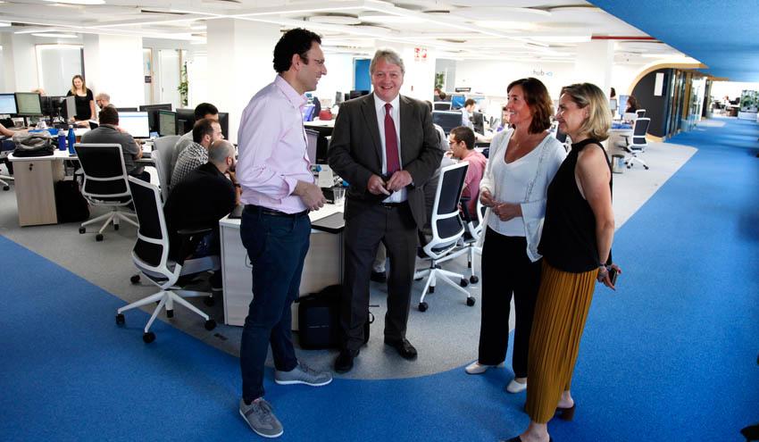 Los promotores de WEX Global visitan Valencia para estudiar la celebración del evento en 2020
