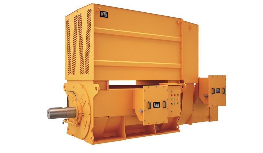 Solución ideal para la industria minera: WEG presenta su nueva serie M Mining de motores de anillos rozantes