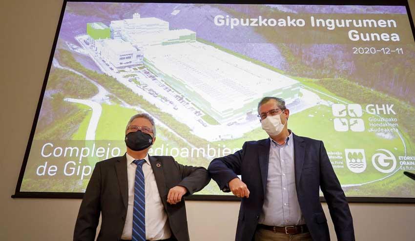 Totalmente en marcha la solución definitiva  a la gestión de los residuos de Gipuzkoa