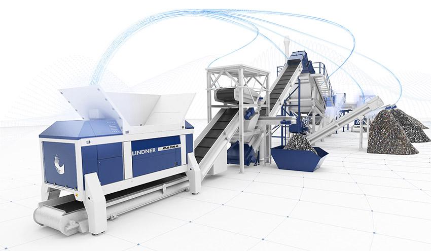 Lindner presentará sus soluciones en sistemas inteligentes para reciclaje en IFAT 2020