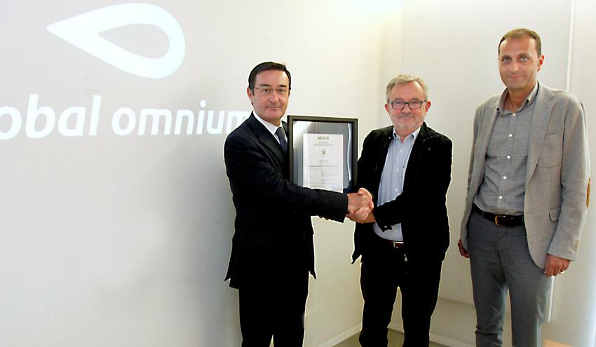 Global Omnium/Aguas de Valencia certifica la sostenibilidad y seguridad del agua en Almussafes