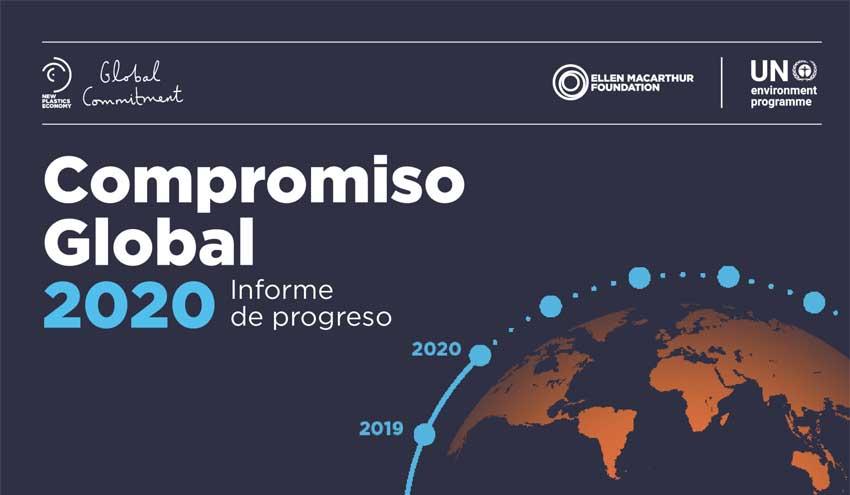 Publicado el segundo Informe de Progreso sobre el Compromiso Global por una Nueva Economía del Plástico