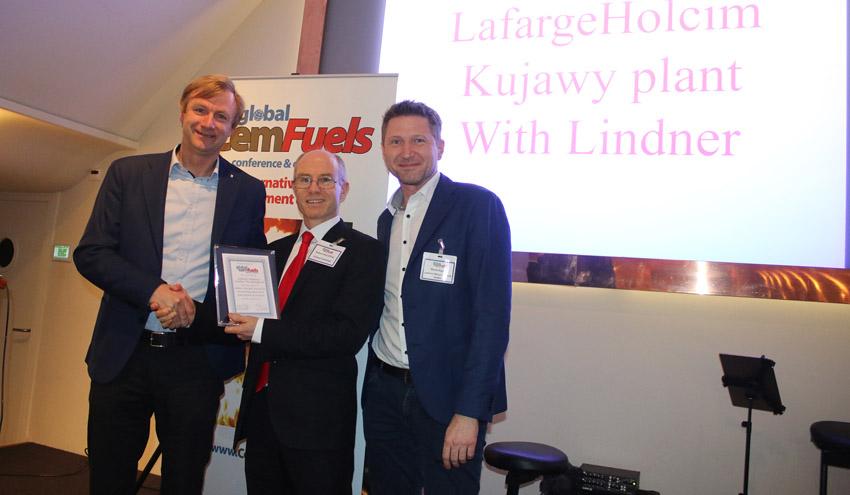 Lindner se alza por quinta vez con el Premio Global CemFuels