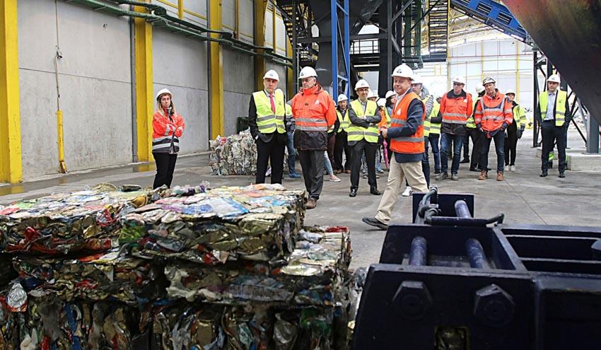 Cogersa duplica la capacidad de su planta de reciclaje de envases de Serín