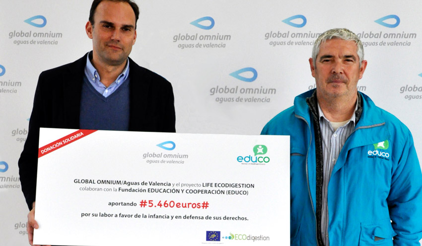 Global Omnium colabora con Educo apoyando el acceso de familias desfavorecidas al comedor escolar