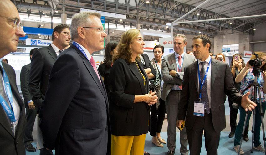Smart Chemistry Smart Future arranca con la visita de la Secretaria de Estado de I+D