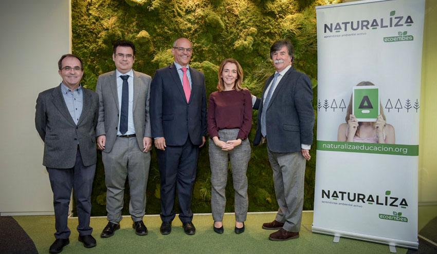 El enfoque ambiental llega a las aulas de la mano de Naturaliza, la gran apuesta educativa de Ecoembes