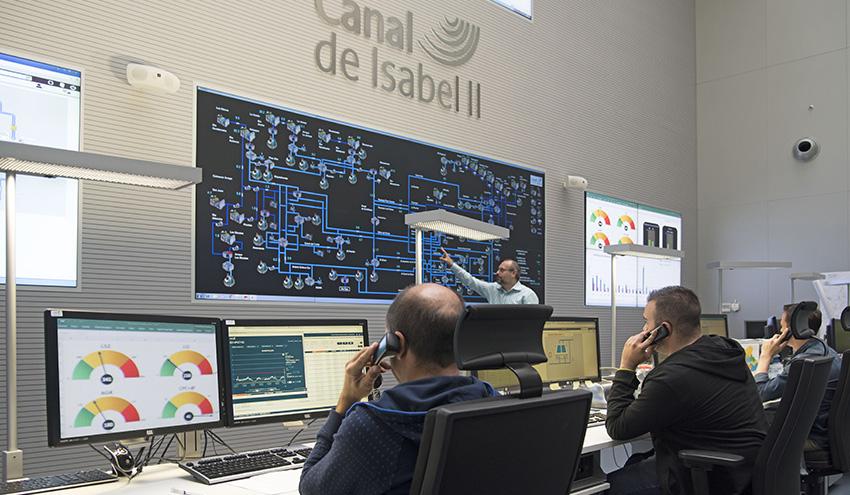 Canal de Isabel II destina 2,9 millones a la vigilancia de sus equipos de telecontrol del agua