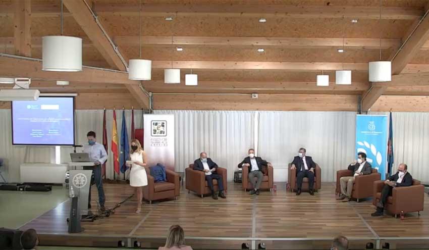 Presentación de los avances en protección medioambiental de la UPCT y Regantes del Campo de Cartagena