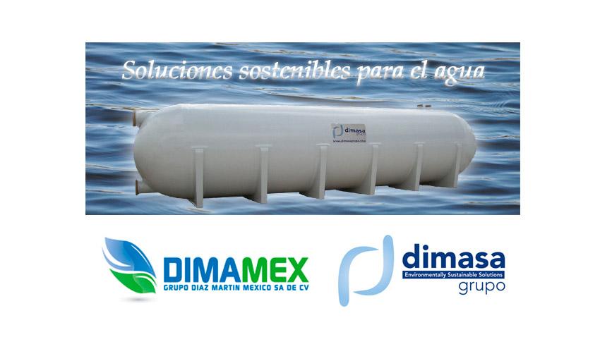 Dimamex y Dimasa Grupo participarán en Aquatech México