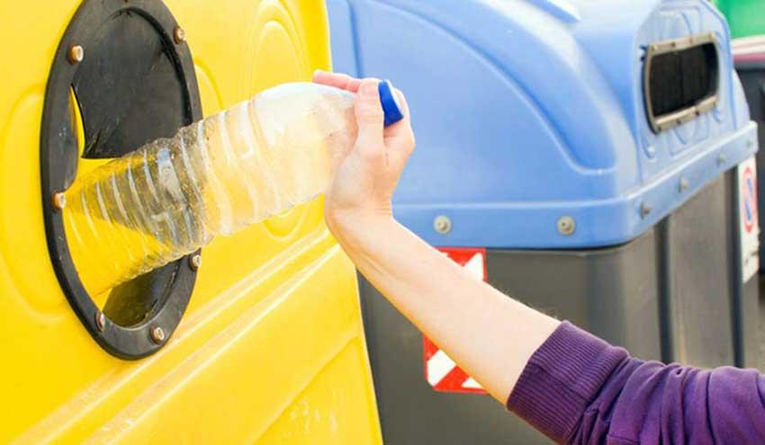 El uso del contenedor amarillo creció en Euskadi un 6,7% en 2020 a pesar de la pandemia