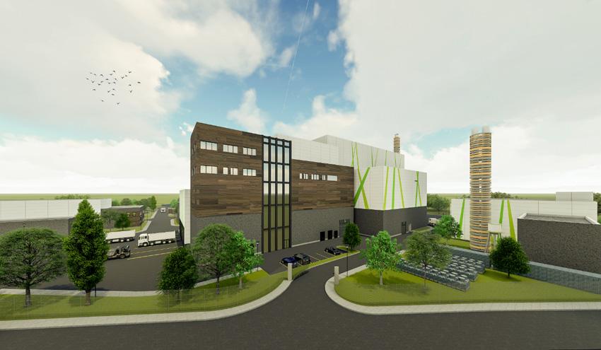 La futura planta de valorización energética de residuos de Olsztyn en Polonia llevará el sello de Urbaser