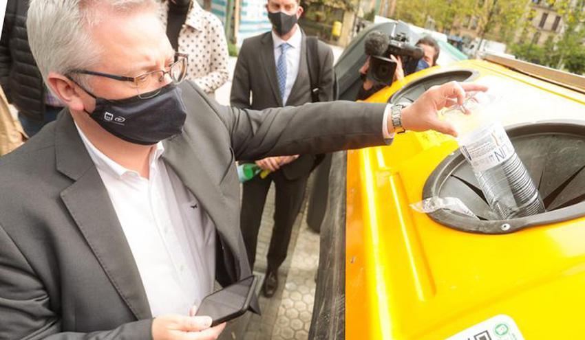 La ciudad de San Sebastián incorpora el sistema de reciclaje incentivado RECICLOS de Ecoembes