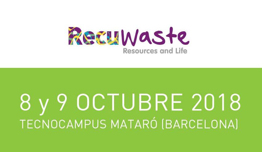 """El premio """"Alfonso Maíllo"""", un reconocimiento a la innovación ambiental en el marco de Recuwaste 2018"""