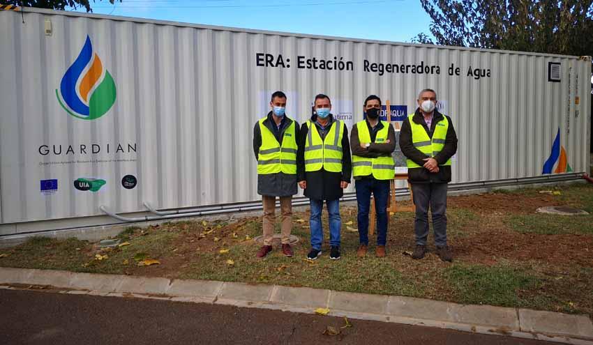 GUARDIAN pone en marcha la Estación Regeneradora de Agua reutilizada para la prevención de incendios