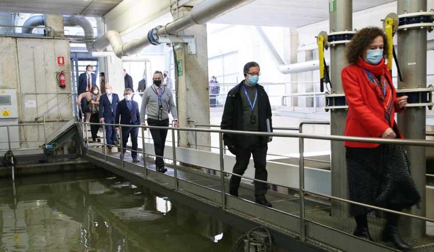 MARE impulsa en Comillas un sistema pionero en la reutilización y la recuperación energética de las aguas residuales