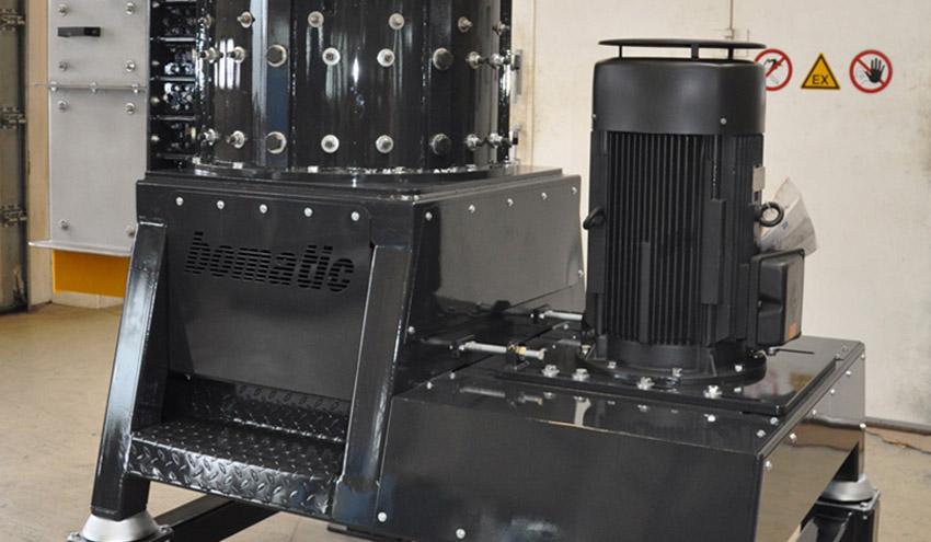 Bomatic Rotacrex R750 en planta de biogás