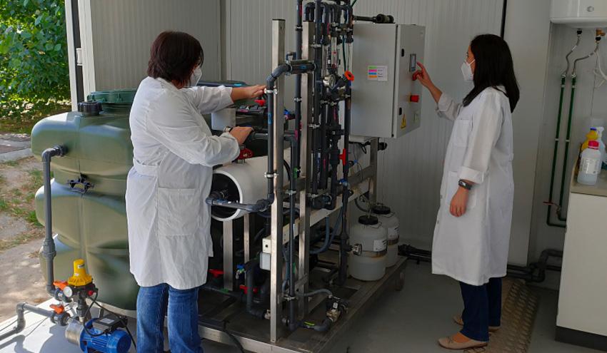 El proyecto INREMEM 2.0 estudia el desarrollo de nuevas técnicas para depurar aguas residuales salobres