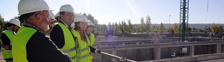 El nuevo tanque de tormentas de la EDAR de Logroño se encuentra ya a un 40% de ejecución