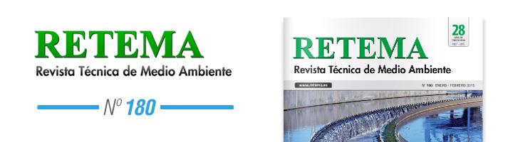 Ya disponible la edición 180 de RETEMA, número especial y monográfico al sector aguas
