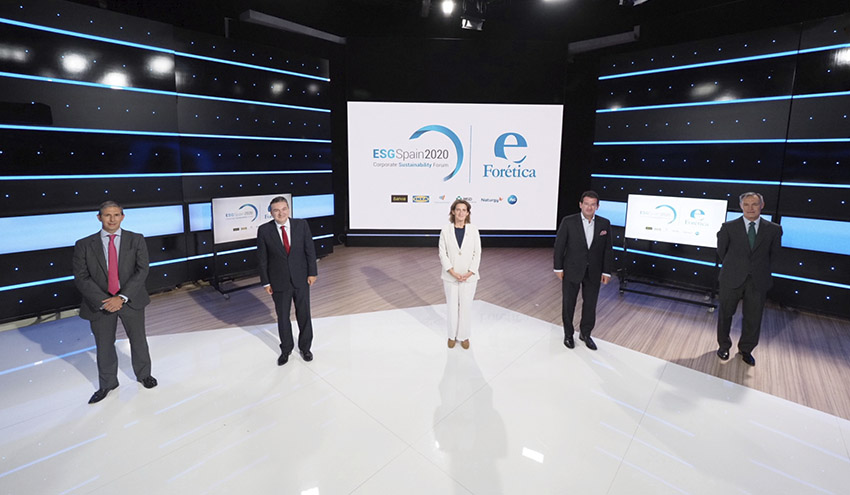 ESG Spain 2020: aumentar la ambición y acelerar la acción son clave para una recuperación sostenible