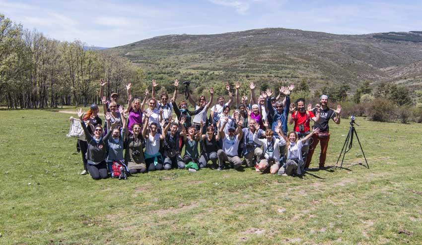 80 'Apadrinamientos LIBERA' de todo el país trabajan para luchar contra la basuraleza