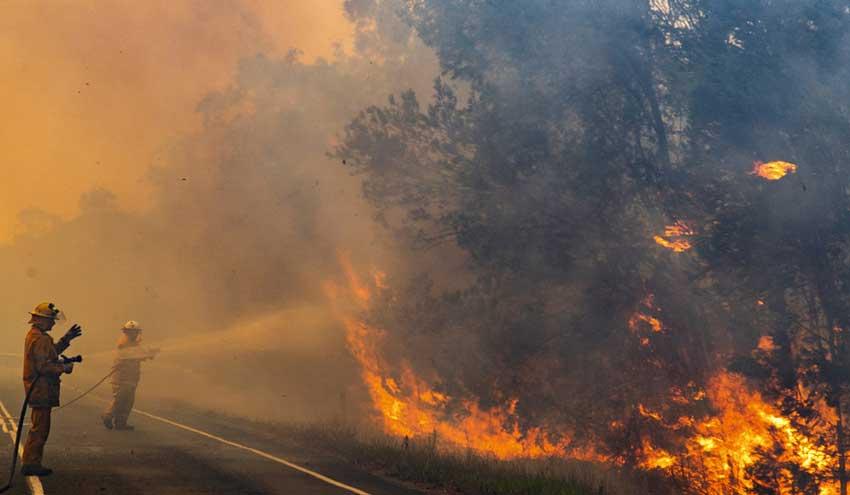 Los efectos nocivos en el aire de los incendios en Australia llegan hasta Sudamérica