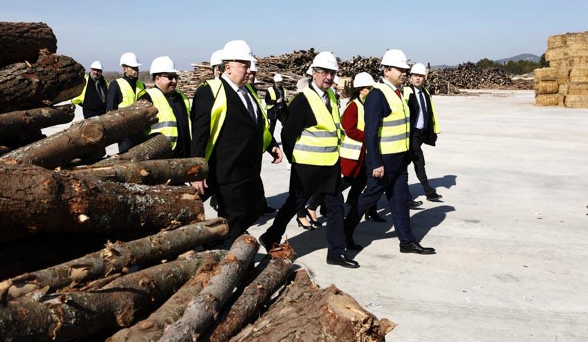La planta de Forestalia en Erla, un ejemplo de colaboración público-privada en el sector de las renovables