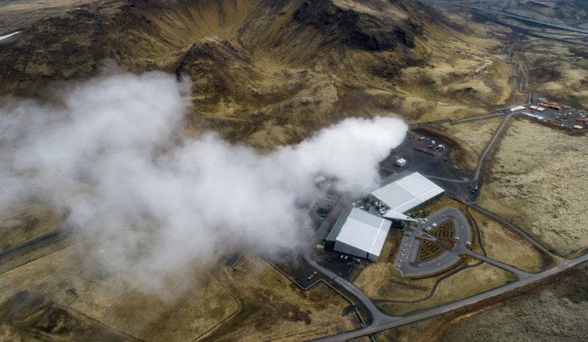 Científicos capturan CO2 para convertirlo en minerales carbonatos