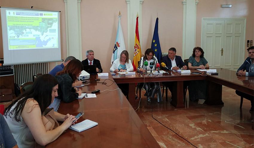 ACUAES invertirá 24 millones de euros en la mejora de la Depuración de Sanxenxo y el Saneamiento de Raxó