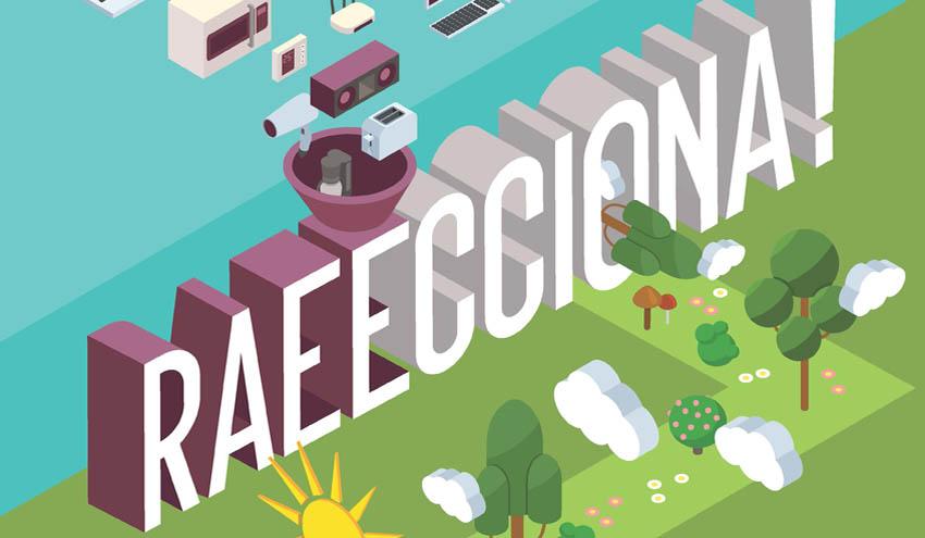 RAEECCIONA, la nueva campaña de gestión de Residuos de Aparatos Eléctricos y Electrónicos