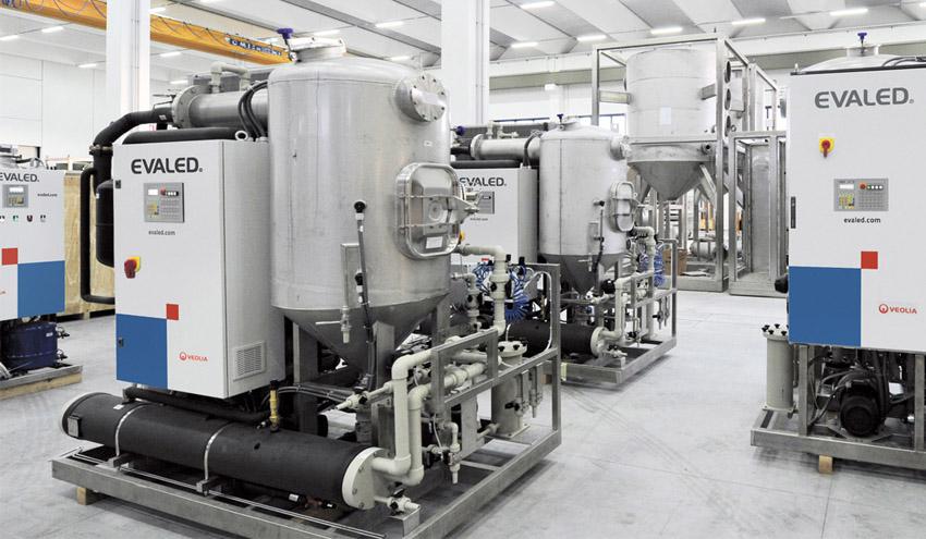 La tecnología de evaporación como alternativa a la gestión externa de residuos líquidos