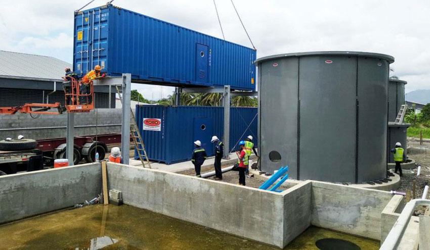 Toro Equipment suministra tres W-Tank® y dos plantas contenerizadas en Trinidad y Tobago