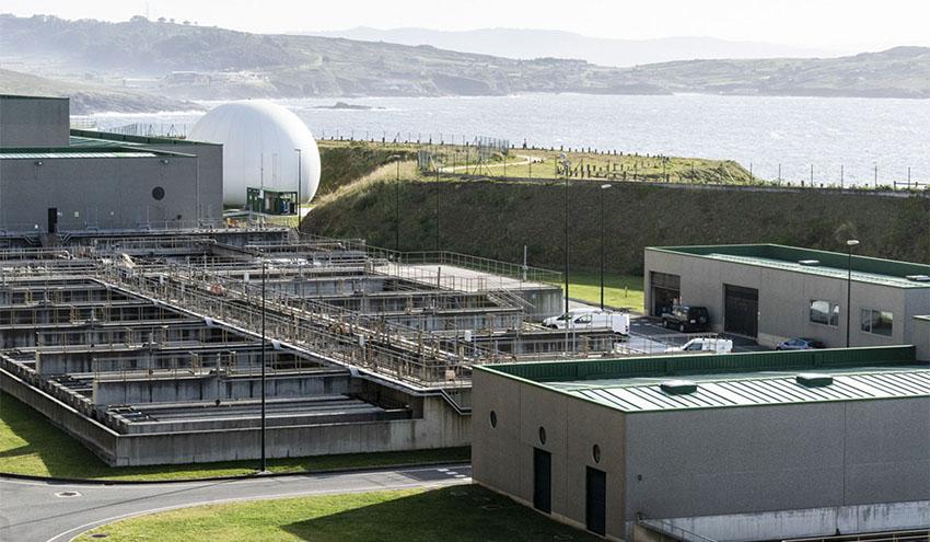 Una investigación en la EDAR de Bens confirma que el SARS-CoV-2 en las aguas se elimina antes de llegar al mar