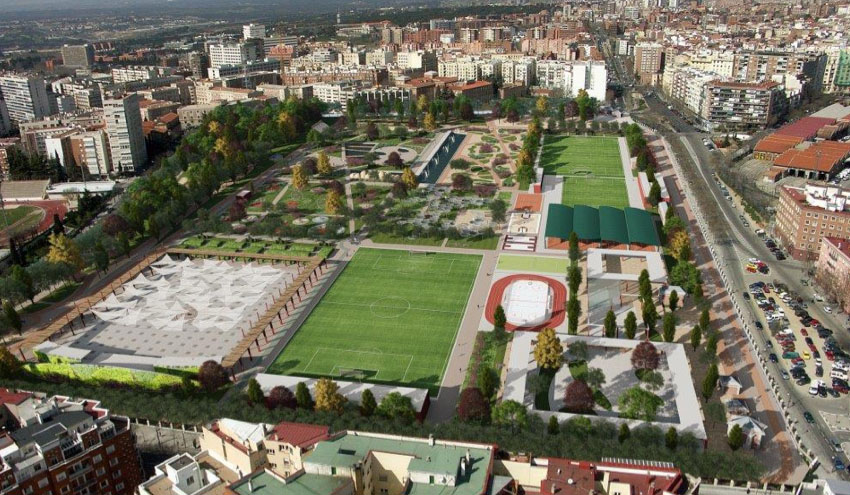 Canal de Isabel II impulsa la recuperación urbana de los espacios del Tercer Depósito
