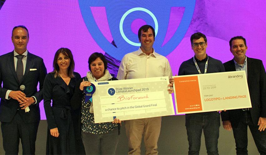 La solución para desalinización a bajo coste 'BioForward' gana la edición española de ClimateLaunchpad