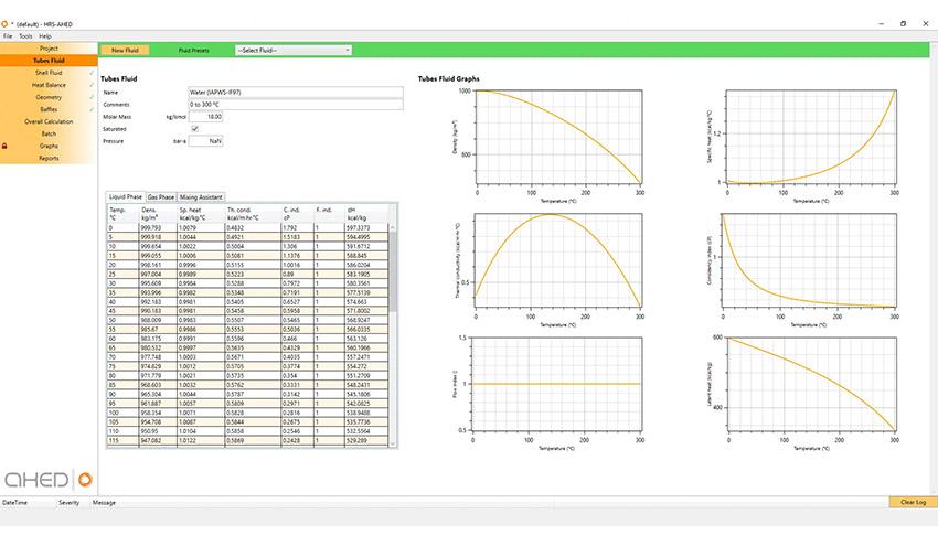 Las investigaciones más recientes como base del software de diseño de intercambiadores de calor