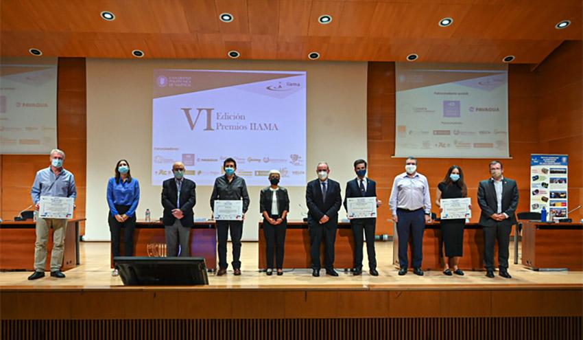 El IIAMA premia a los mejores Trabajos Académicos en Ingeniería del Agua y Medio Ambiente