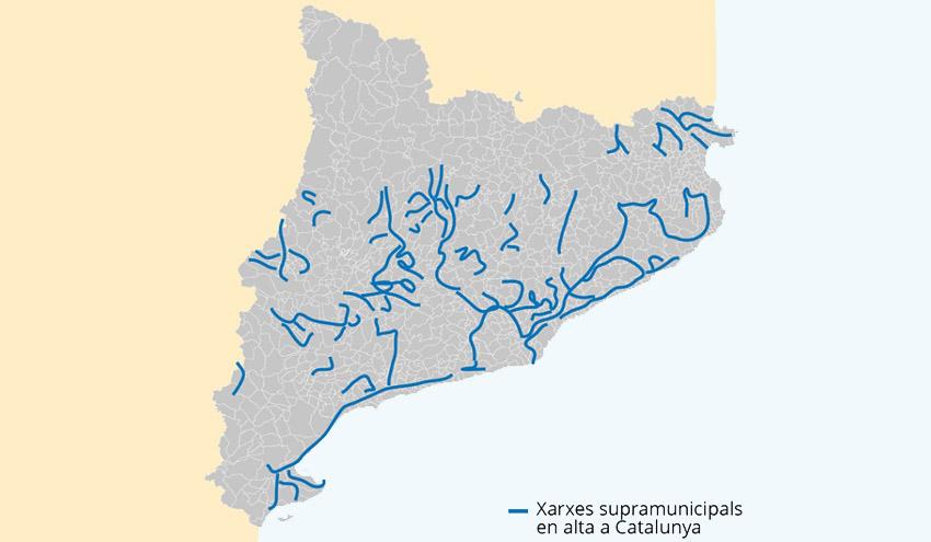12 millones de euros para mejorar las redes de abastecimiento supramunicipales catalanas