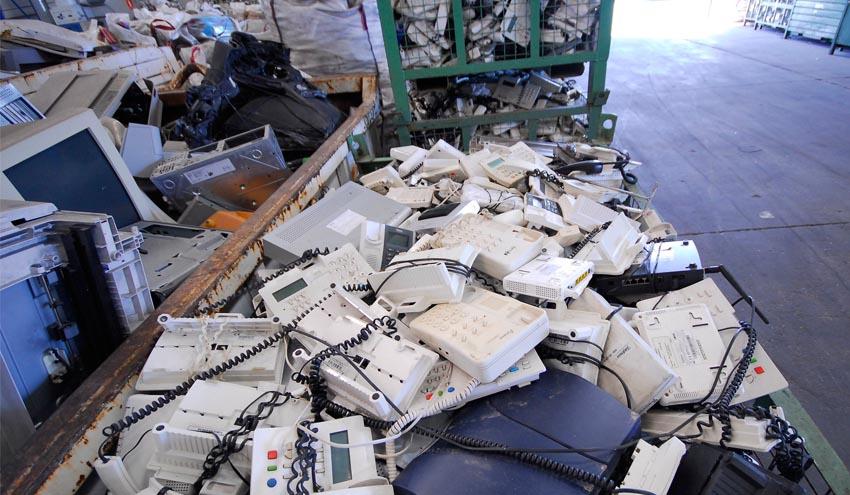 Recyclia supera las 1.870 toneladas de RAEE recogidos durante las navidades y rebajas