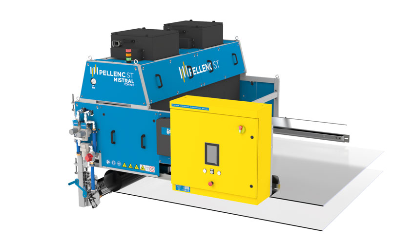Mistral Compact: la máquina de separación óptica para actualizaciones e instalaciones complejas