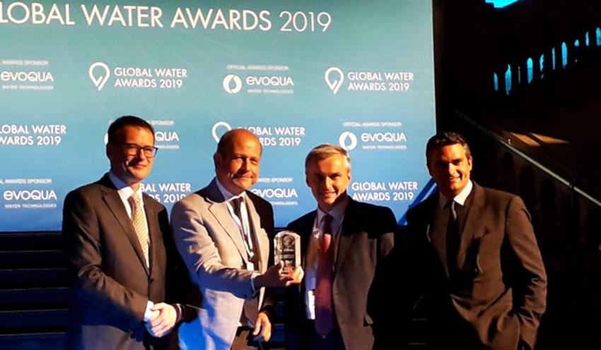 SUEZ, reconocida como 'Compañía de agua del año' en los Global Water Awards