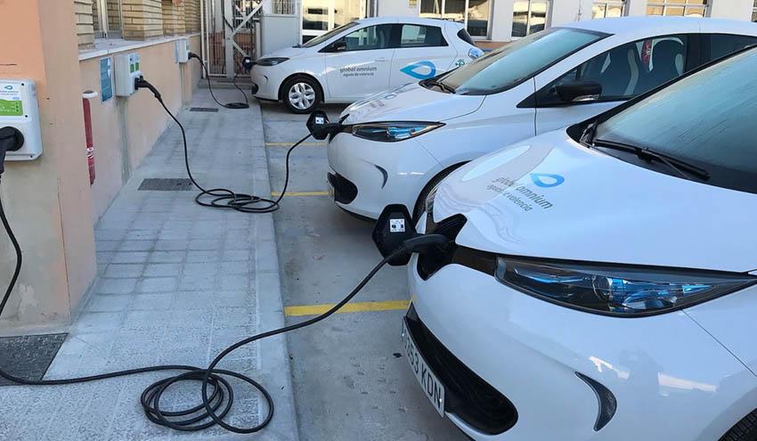 Global Omnium apuesta por los vehículos ecológicos para reducir su impacto medioambiental