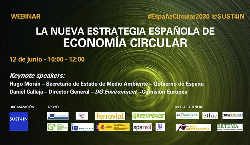 Webinar: La Nueva Estrategia Española de Economía Circular