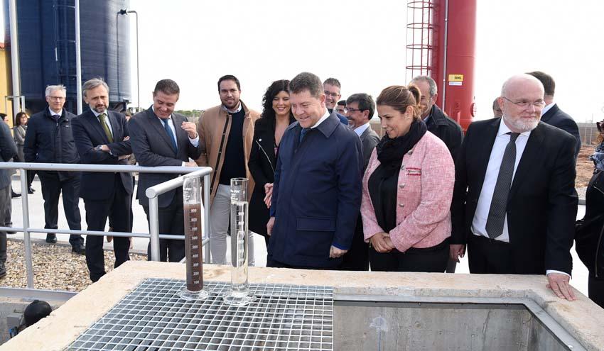 El Presidente de Castilla-La Mancha inaugura las depuradoras de Barrax y Balazote
