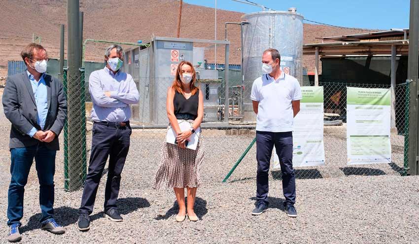 Inaugurada en Agüimes la primera planta de producción de biogás de Canarias a partir de residuos ganaderos
