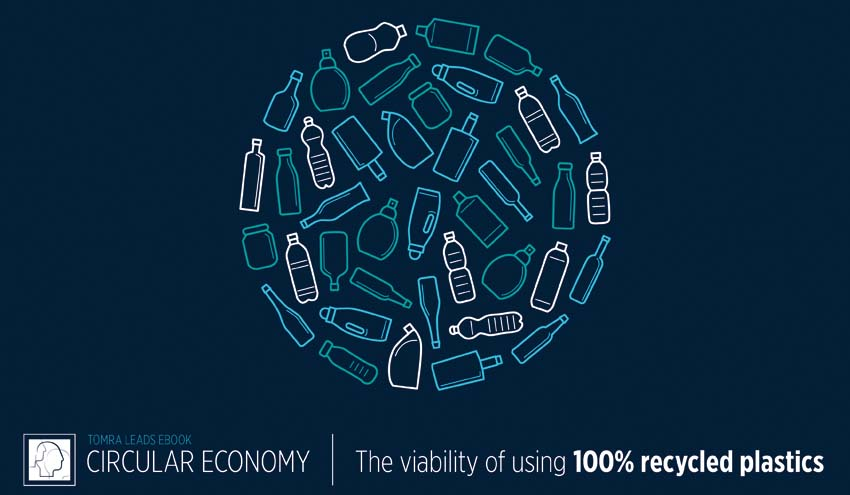 TOMRA Sorting Recycling lanza un ebook que analiza la viabilidad de usar plástico 100% reciclado