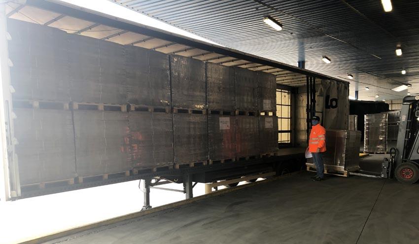 DS Smith dona 8.000 contenedores de cartón a los hospitales de Burgos y Santander