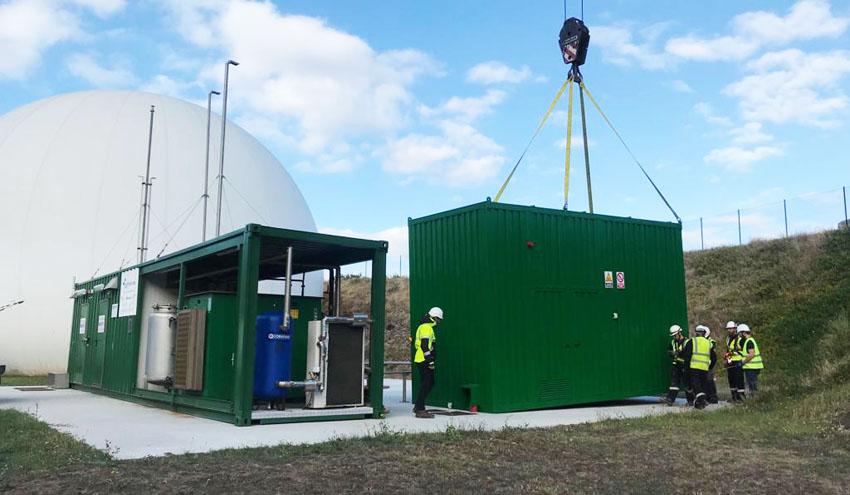 La primera planta de purificación biológica de biogás en España ya es una realidad en Galicia